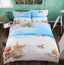 coastal duvet covers. Simple Coastal Beddinginn 4pcs 3D 50 Tencel And Cotton Coastal Bedding Sets Coconut Tree  Beach Blue On Duvet Covers E