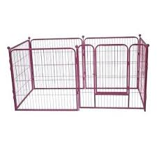 retractable dog fence large capacity outdoor retractable dog fence folding metal pet dog fence retractable dog