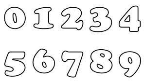 Numeri Da 0 A 9 Da Colorare Gratis Per I Bimbi Disegni Da Colorare