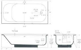 dimensions of standard bathtub bathtubs sizes alyssa stard bath tub