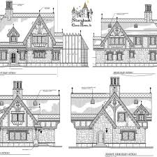 cottage house plans of storybook post