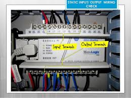 plc troubleshooting maintenance 46 static input output wiring