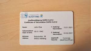 In altötting bekommen bürger, die die zweitimpfung erhalten haben, schon jetzt einen digitalen. Im Alleingang Bayerischer Landkreis Vergibt Als Erster Digitalen Corona Impfpass
