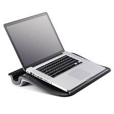 cooler master comforter laptop lap desk with pillow cushion black