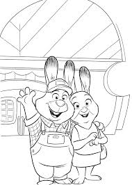 Zootopia coloring page to download for free : Zootopia To Print Zootopia Kids Coloring Pages