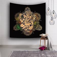 tapestry 3d printed india elephant 150x130cm wall blankets beach towel decoration wall tapestry wall hanging mandala blanket tapestries wall decorative