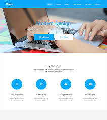 tamplate bikin free simple landing page template bootstrapmade