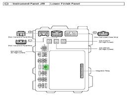 2000 toyota corolla fuse box puzzle bobble com 2005 toyota corolla fuse box diagram at 2004 Corolla Under Dash Fuse Box