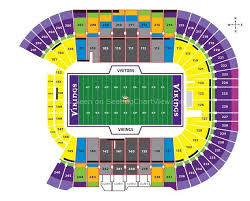 Tcf Bank Stadium Minneapolis Mn Seating Chart View