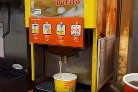 Vending Machine Outlet Custom 48Eleven Stores In Singapore Have Mashed Potato Vending Machines