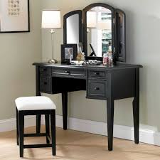 mirrored vanity furniture. Linon Harper Mirrored Vanity Set Silver Or Gold Hayneedle Solid Furniture U