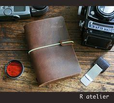 pport size traveler s notebook leather cover sepia starter kit