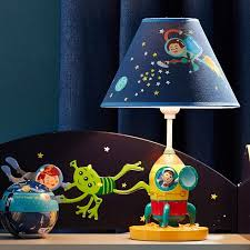 <b>Fantasy</b> Fields Outer Space Kids Bedside <b>LED Night</b> Light Table ...