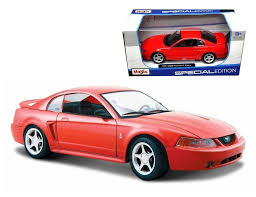 MAISTO 1:24 W/B SPECIAL EDITION 1999 FORD MUSTANG SVT COBRA ...