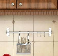 kitchen utensil hanger wall mounted pan pot rack kitchen utensils hanger organizer lid holder stainless kitchen