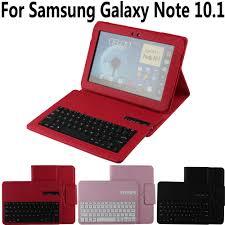 Tháo Rời Không Dây Bàn Phím Bluetooth Ốp Lưng Cho Samsung Galaxy Note 10.1  N8000 N8010 N8020 Bao Da Bàn Phím Cho Samsung Note 800 10.1
