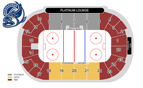 Seating Maps Paramount Fine Foods Centre