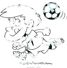 Soccer Coloring Page Mistersofpuertoricoinfo