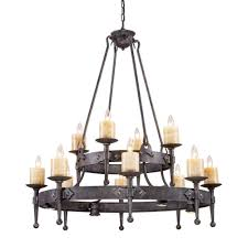 titan lighting cambridge 12 light moonlit rust ceiling mount chandelier
