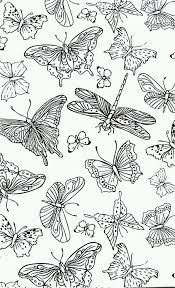 Vlinders Kleurplaten Volwassenen Secret Garden Colouring Free