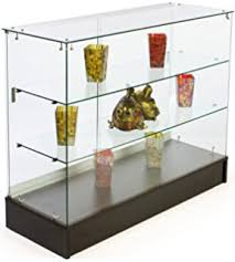 Free Standing Display Cabinets Amazon FreeStanding Glass Display Cabinet 100 X 100 X 100Inch 33