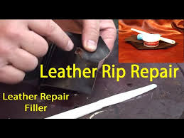 leather repair filler leather tear repair how to fix a tear in leather you