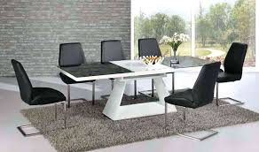 extendable dining table with 6 chairs stunning white extending dining table high gloss and 8 chairs