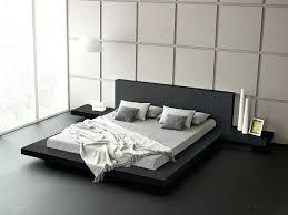 modern platform bed. Bed Frame Stands Modern Platform 2 Night Queen Diy With Nightstands