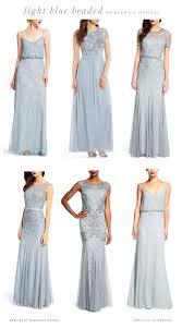 Light Blue Sparkly Bridesmaid Dresses Light Blue Mix And Match Bridesmaid Dresses Light Blue