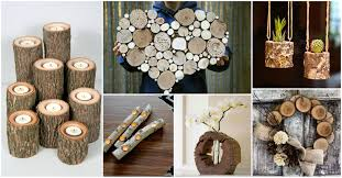 Log Crafts Diy Log Crafts That You Will Have To See