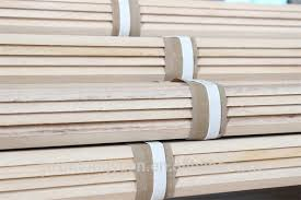 China Supplier Thin Wood Strips For Oversea Market