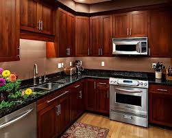 Cherry Cabinets Kitchen Home Design Ideas Pictures Remodel And