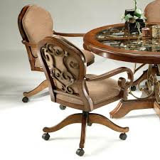 delectable smart oak dining chairs with casters le oak dining chairs with casters dining room chairs