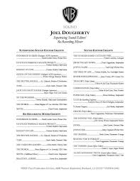 Inspirational Film Production Resume Template | Resume Templates