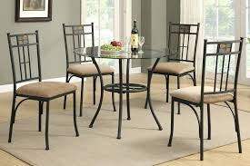 alluring glass round dining table set distinctive pedestal top key hole back 6 chairs d