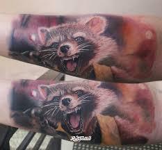 фото татуировки стражи галактики в стиле реализм татуировки на