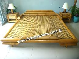bamboo bed frame without rattan with plans 17 ontarioserversinfo bamboo bed frame bamboo bed