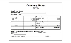 Salary Slip Word Format 62 Free Pay Stub Templates Downloads Word Excel Pdf Doc