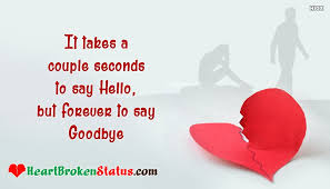 Quotes Of A Broken Heart Simple Heart Broken Status Messages For Ex