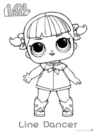Lol Dolls Coloring Pages At Getdrawingscom Free For Personal Use