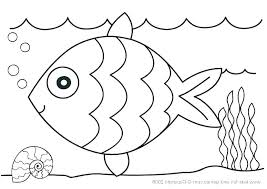 Tropical Fish Coloring Page Tropical Fish Pictures To Color Ocean