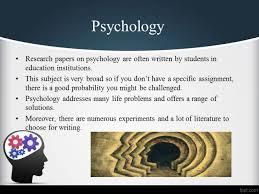 psychology research paper topics psychology essay topic  psychology essay topic