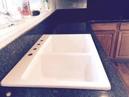 top mount sink with granite countertops top mount sink granite repair granite repaired top mounted sinks granite countertops