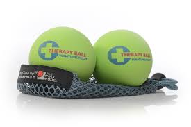 therapy balls self massage trigger point therapy tune up yoga tune up therapy ball pair in tote