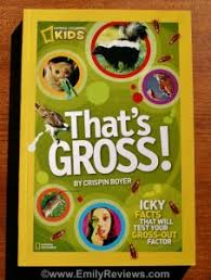 it has fun facts about gruesome and sticky goos readers get to learn about everything from barf bugs boogerore details photos will hold kids