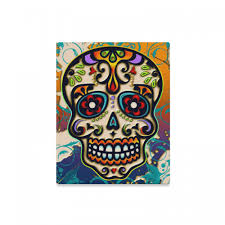 dead colorful canvas wall art