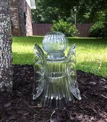tall vase lighting garden. Contemporary Vase Garden Angel Made With Tall Vase Globe Two Plates And Solar Yard In Tall Vase Lighting Pinterest