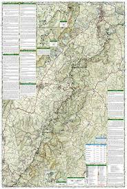 shenandoah national park (national geographic trails illustrated