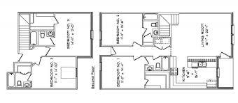 Townhomes Floor Plans