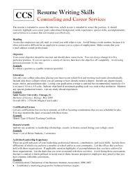 Skills To Put On Acting Resume Resume For Study